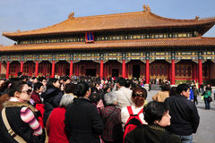 The Forbidden city in Beijing China Stock Photography