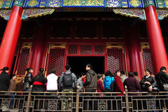 The Forbidden city in Beijing China Royalty Free Stock Photo