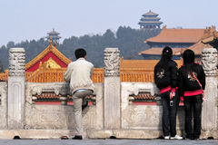 The Forbidden city in Beijing China Stock Images