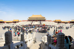 Forbidden City of Beijing, China Stock Images