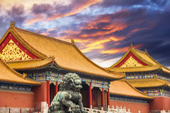 The Forbidden City of Beijing Stock Photography