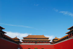 Forbidden city, Beijing China Royalty Free Stock Photos