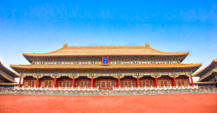 The Forbidden City, Beijing royalty free stock image