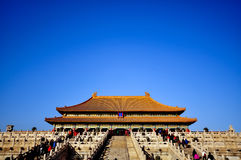 Forbidden City in Beijing, China Stock Photo