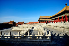 Forbidden City in Beijing, China Royalty Free Stock Photos