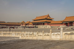 The forbidden City in Beijing China Stock Photos