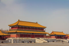 Forbidden City in Beijing China Royalty Free Stock Photo