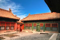 The Forbidden City in beijing ,china Stock Photo