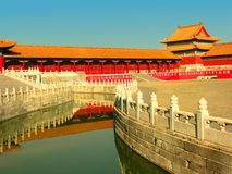 Forbidden City, Beijing, China Stock Photography