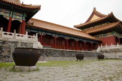 Forbidden City - Beijing - China Royalty Free Stock Photo