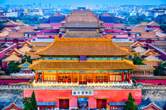 Forbidden City of Beijing Royalty Free Stock Photos