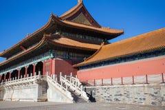 The Forbidden City at Beijing, China. Ancient building at the Forbidden City, China Royalty Free Stock Photos