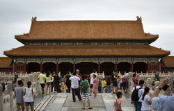 The Forbidden City in Beijing, China Royalty Free Stock Photo