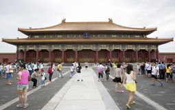 The Forbidden City in Beijing, China Royalty Free Stock Images