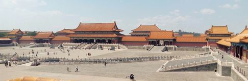 Forbidden city - Beijing, China Royalty Free Stock Photography
