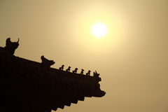 Forbidden City  beijing China Royalty Free Stock Images