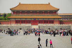 Forbidden City Beijing China Royalty Free Stock Photography