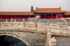 Forbidden city. Beijing, China Royalty Free Stock Photo
