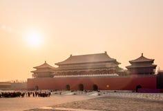 Forbidden city. Beijing, China Royalty Free Stock Photos