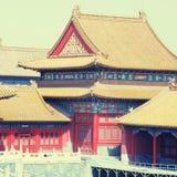 Forbidden City , Beijing, China, instagram effect Stock Images