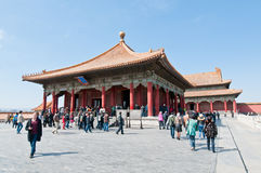 Forbidden City in Beijing Stock Image