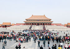 Forbidden City in Beijing Royalty Free Stock Photography
