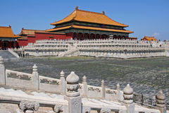 Forbidden City in Beijing, China Royalty Free Stock Photography