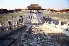 Forbidden city, in Beijing Royalty Free Stock Image