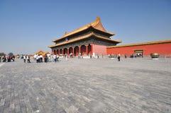 Forbidden city of Beijing Stock Image