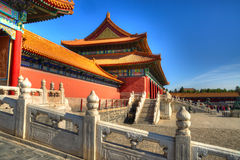 Forbidden city in Beijing, China Stock Images