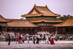 Forbidden City - Beijing, China Stock Photography