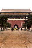 The Forbidden City. BEIJING, CHINA-26th MARCH 2014:The Forbidden City was once the home for the Emperor of china and his government, now a major tourist Royalty Free Stock Photography