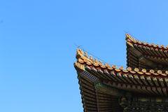 The forbidden city, Beijing Royalty Free Stock Images