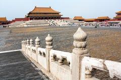Forbidden city - Beijing, china Stock Images