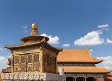 Forbidden City, Beijing, China Royalty Free Stock Photo