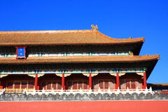 The Forbidden City in Beijing Stock Images