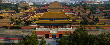 Forbidden City of Beijing Royalty Free Stock Photography