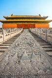 In the Forbidden City in Beijing. North China royalty free stock photos