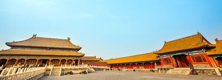 In the Forbidden City in Beijing. North China Stock Images