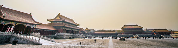 Forbidden City in Beijing. North China Stock Photography