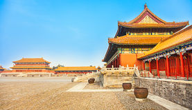 Forbidden City in Beijing. North China Stock Photos