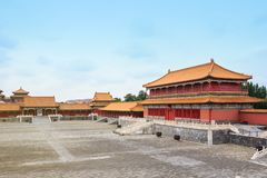 Forbidden City in Beijing, China. Forbidden city in Beijing, one of the most popular tourist destinations in the world listed on UNESCO stock photography