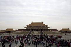 Forbidden city, Beijing stock images