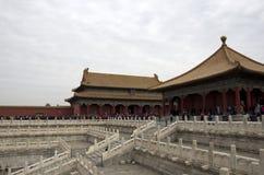 Forbidden city, Beijing stock image