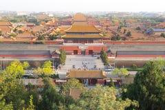 The Forbidden City in Beijing stock photography