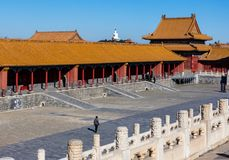 Beijing Palace Museum, China stock photography