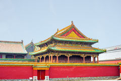 The forbidden city Beijing Shenyang Imperial Palace China Stock Image