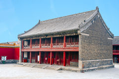 The forbidden city Beijing Shenyang Imperial Palace China Stock Photography