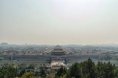 Forbidden city in Beijing. Royalty Free Stock Images