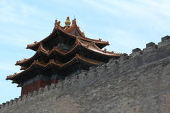The Forbidden City of Beijing Stock Photos